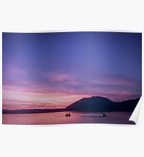 Vancouver Island Sunsets Poster