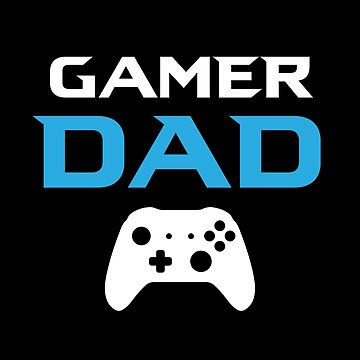 Gamer Dad by fromherotozero