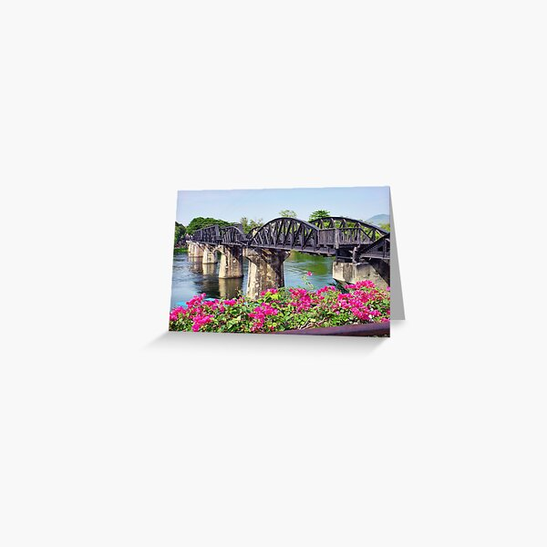 River Kwai Greeting Card