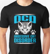 Obsessive Cat Disorder Funny Cat T-shirt T-Shirt