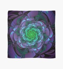 Beautiful Purple & Green Aeonium Arboreum Zwartkop Scarf