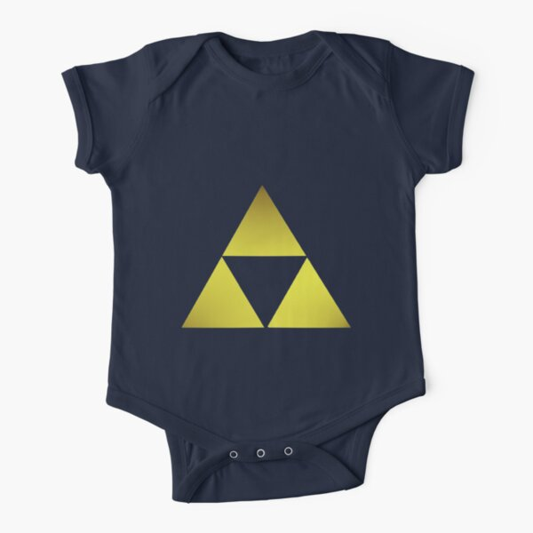 Golden Triforce Body manches courtes