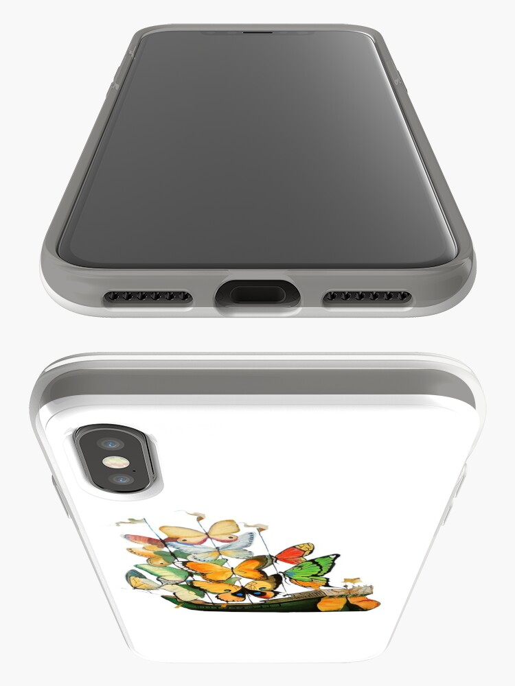 Alternate view of Salvador Dali Ship with Butterfly Sails iPhone Case & Cover