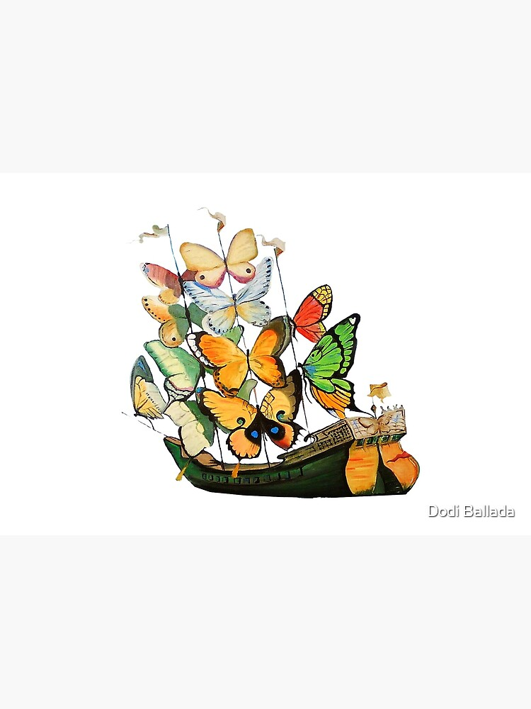 Salvador Dali Ship with Butterfly Sails by timelessfancy