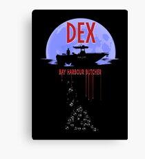 Dexter - Bay harbour Butcher Canvas Print
