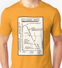 'My Work Day' graph T-Shirt