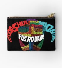 Powered by words! Studio Pouch