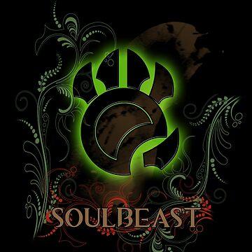 Guild Wars 2 PoF - Ranger Soulbeast (Guardabosques Bestialma) by HelenFerroni