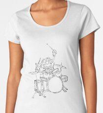 ANIMAL MUPPETS DRUMMER Women's Premium T-Shirt