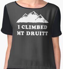 I Climbed Mt Druitt Women's Chiffon Top
