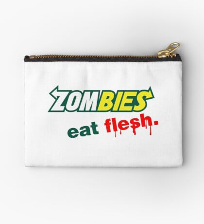 Zombies essen Fleisch Täschchen