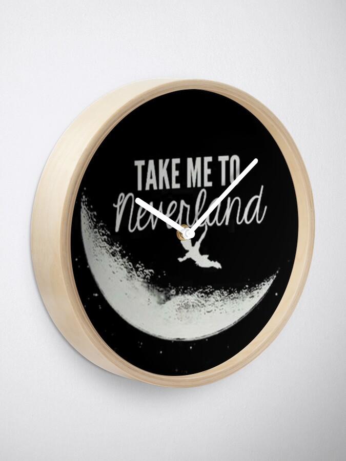 Vista alternativa de Reloj Take me to neverland