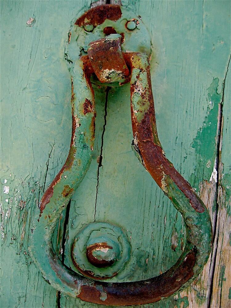rusty door knob by Francesca Rizzo