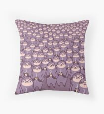 Sloth-tastic! Throw Pillow
