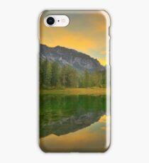 Emerald Lake in Autumn iPhone Case/Skin