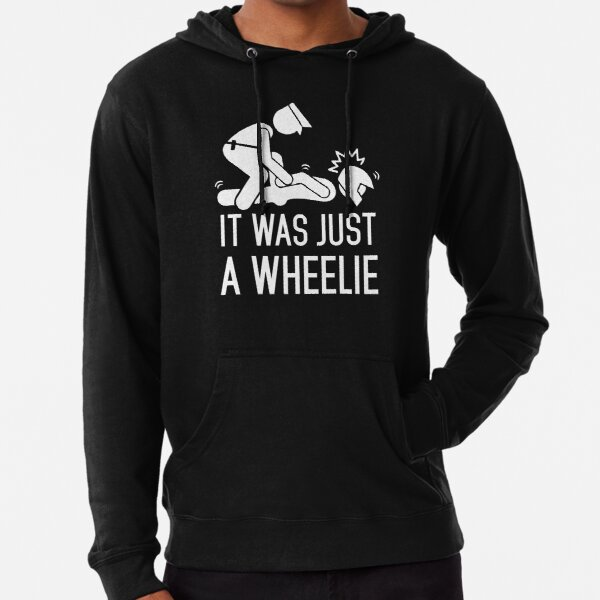 Legalize Wheelies Lightweight Hoodie