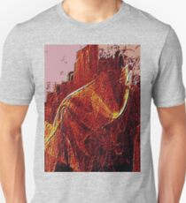 Mountain Of Fire-Available As Art Prints-Mugs,Cases,Duvets,T Shirts,Stickers,etc T-Shirt