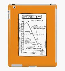 'My Work Day' graph iPad Case/Skin