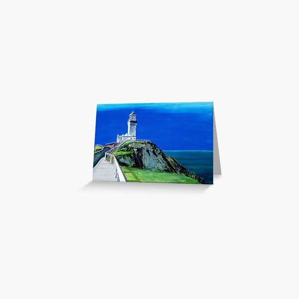Light House - Cape Byron - Byron Bay Greeting Card
