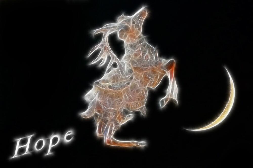 Reindeer of Hope by SarahTrangmar