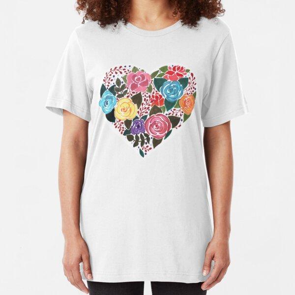 In love! Slim Fit T-Shirt