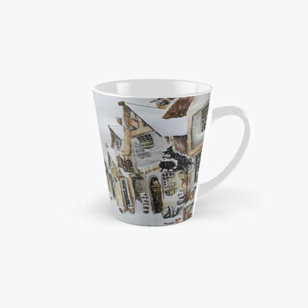 Hogsmeade in the Snow Tall Mug