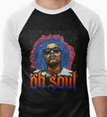 ab soul - Where do new ideas come from? The answer is simple: differences. Men's Baseball ¾ T-Shirt