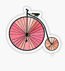 Old bicycle Sticker
