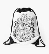 ONE INK TATTOO KRAKEN Drawstring Bag