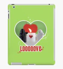 Be my Valentine Ghost! iPad Case/Skin