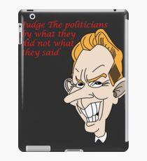 Vinilo o funda para iPad Político