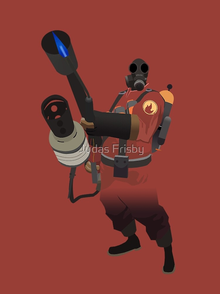 Team Fortress 2 - Pyro by Judas Frisby