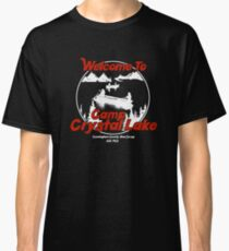 Welcome to Camp Crystal Lake : Inspired by Friday The 13th Classic T-Shirt