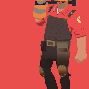 Team Fortress 2 - Engineer by yoshisaredragon