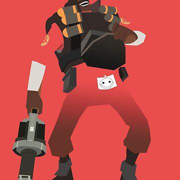 Team Fortress 2 - Demoman by yoshisaredragon