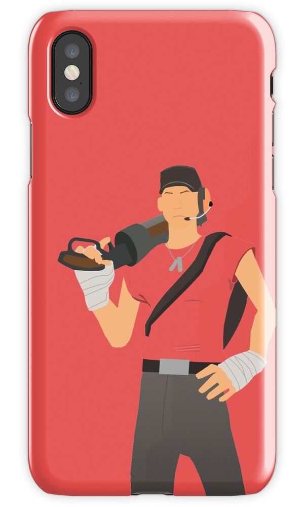 i phones all quot team fortress 2 scout quot iphone cases amp covers by judas 22515
