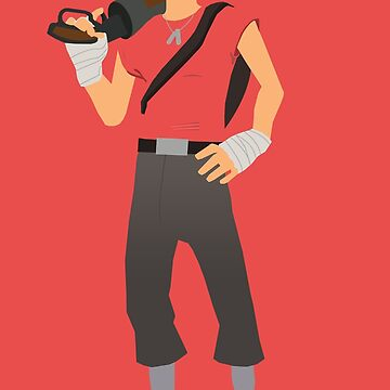 Team Fortress 2 - Scout by yoshisaredragon