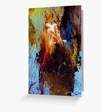 Dance with colors Greeting Card