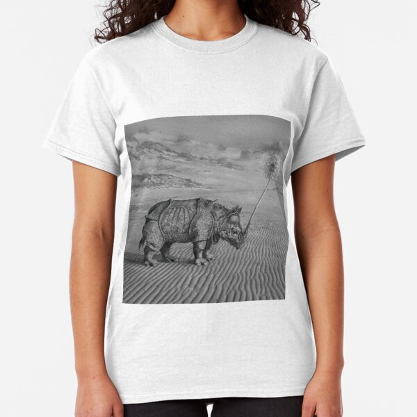 Rhino from Library Classic T-Shirt