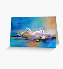 Sunset Chillout Greeting Card