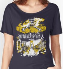 Attack on Moon - Alien Advance Women's Relaxed Fit T-Shirt