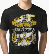 Angriff auf Mond - Alien Advance Vintage T-Shirt