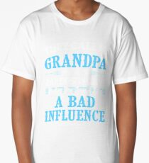 They Call Me Grandpa Because Partner In Crime Funny Long T-Shirt