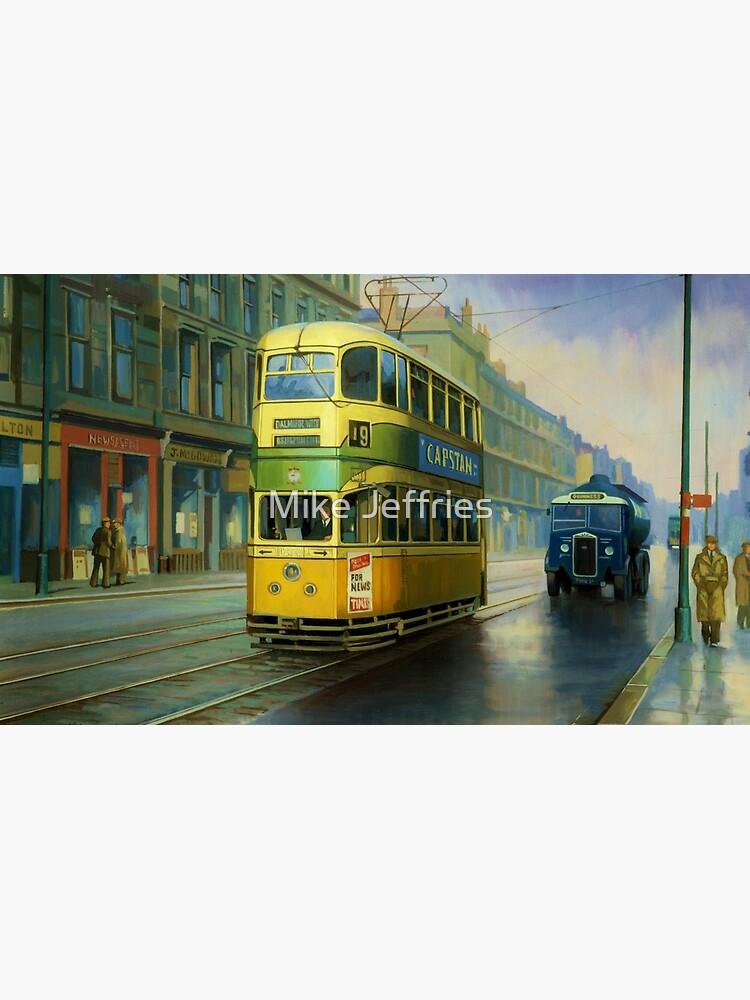 Glasgow tram. by artistjeffries