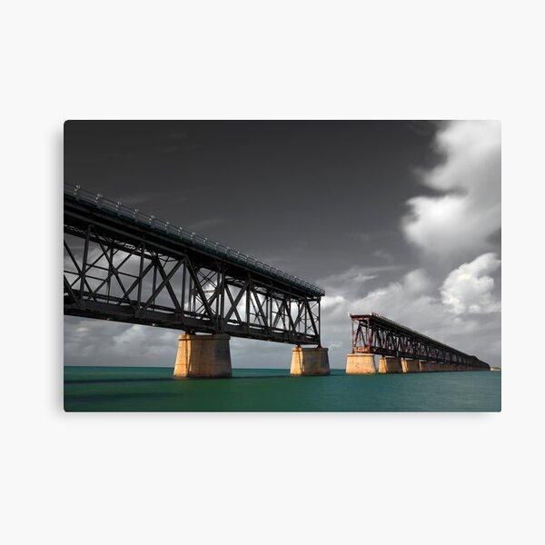 Viejo Puente Bahía Honda Lienzo