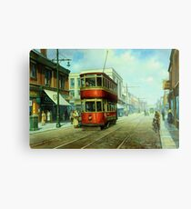 Stockport tram. Metal Print