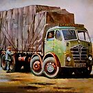 Foden in yard. by Mike Jeffries