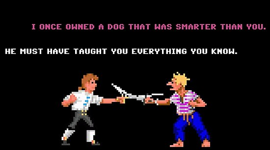 Guybrush - Insult Swordfighting by HumbleMister