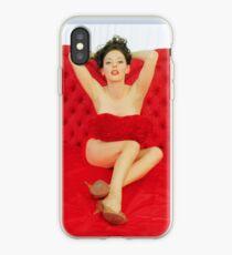 rose mcgowan iPhone Case