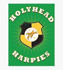 Holyhead Harpies Photographic Print